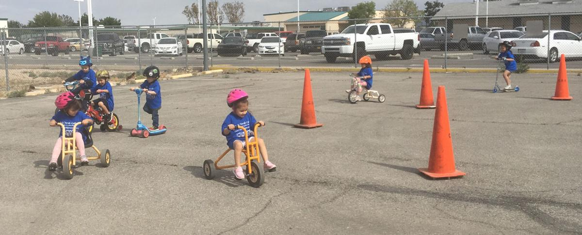 PVC Child Development Center kids ride 'for those who can't'