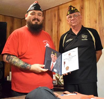 Blythe VFW Post 2987 presented All-American, All-State honors