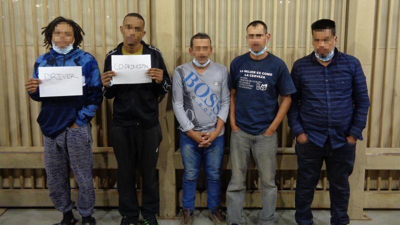 Blythe station Border Patrol's active November: Smuggling arrests, meth interceptions