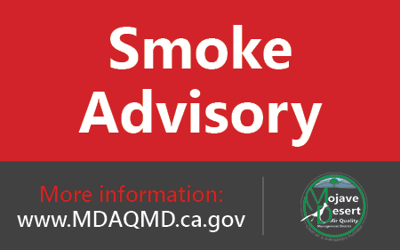 MDAQMD extends smoke advisory 'until further notice': CA wildfire impacts area air quality