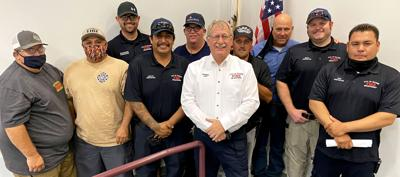 Blythe City Fire, Council welcomes new chief: Ronnie Hasler