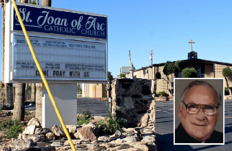 Suit against former priest, Blythe church alleges child sexual abuse: St. Joan of Arc Catholic Church complaint follows new AB 218 law