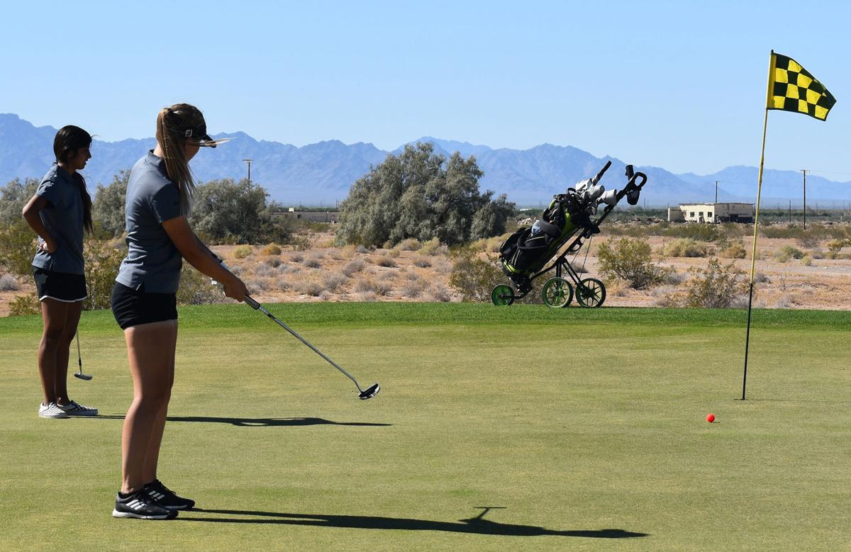 Faces & Places: PVHS Jackets golf on the green