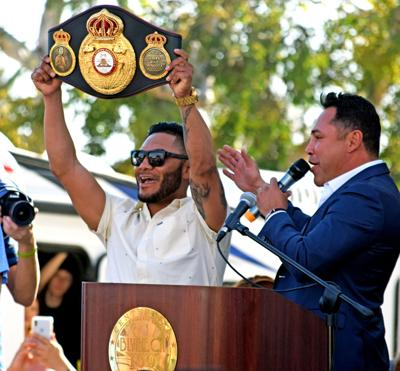 Cancio-Machado rematch set for June 21: Blythe champ to defend WBA super featherweight title in Indio