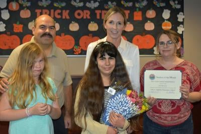 PVUSD award Student of the Month: Appleby's Izel Barrara recognized for her work ethic