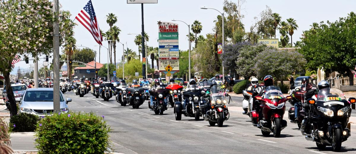 Blythe welcomes 'Run for the Wall': Annual veterans motorcycle ride comes to town