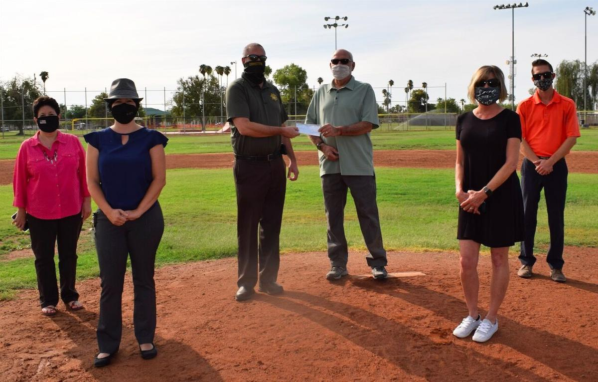 CVSP delivers $2.77K to Blythe organizations: Inmate Toastmasters support BCRC, Blythe Baseball Club