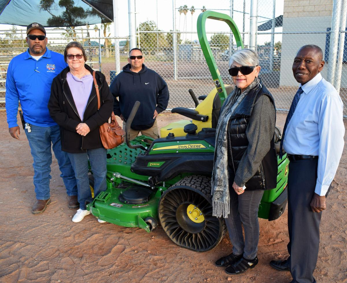 CIF, Boy Scout help revamp Blythe Little League fields: Local patrons support youth ball parks