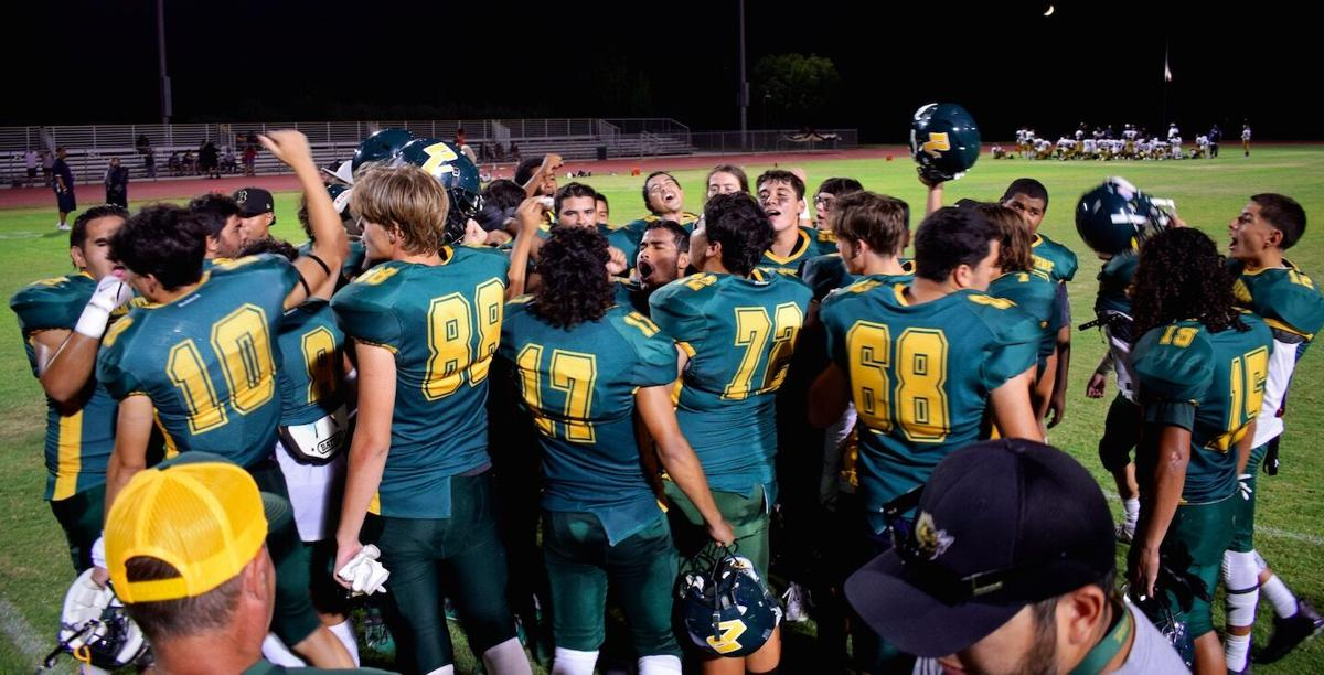 Jackets deliver historic 2021 home opener win: PVHS defeat Div. II Morse Tigers 20-16