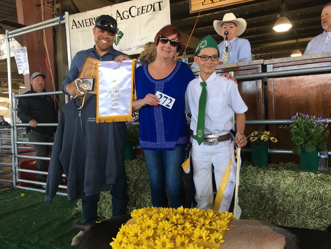 Full 2019 Colorado River Fair Champions results are in!