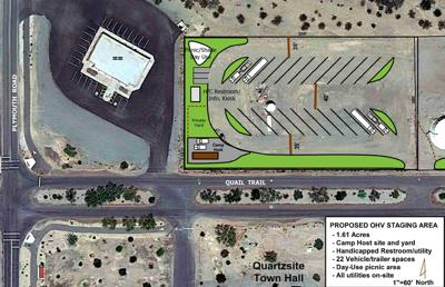 Quartzsite $463.2K grant for AZ Peace Trail project approved: Staging area set to bolster town's OHV/ATV future