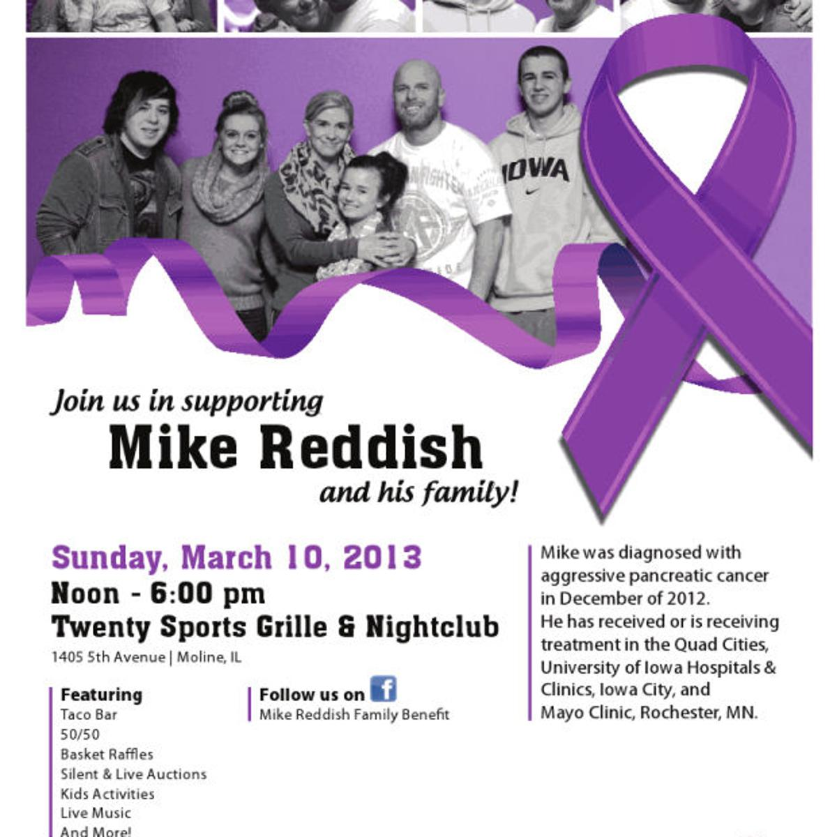 Battling pancreatic cancer, Reddish vows to be one of the