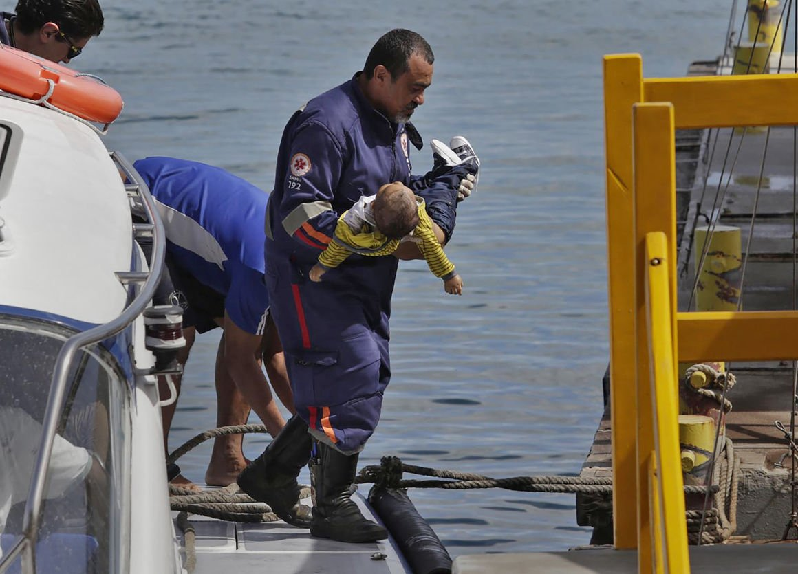 At least 39 killed in two Brazil boat accidents