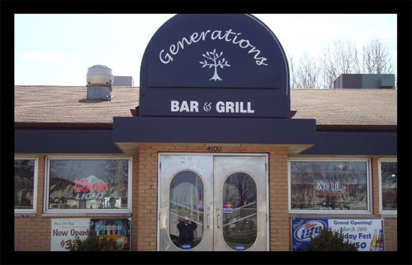Generations Bar and Grill frontview
