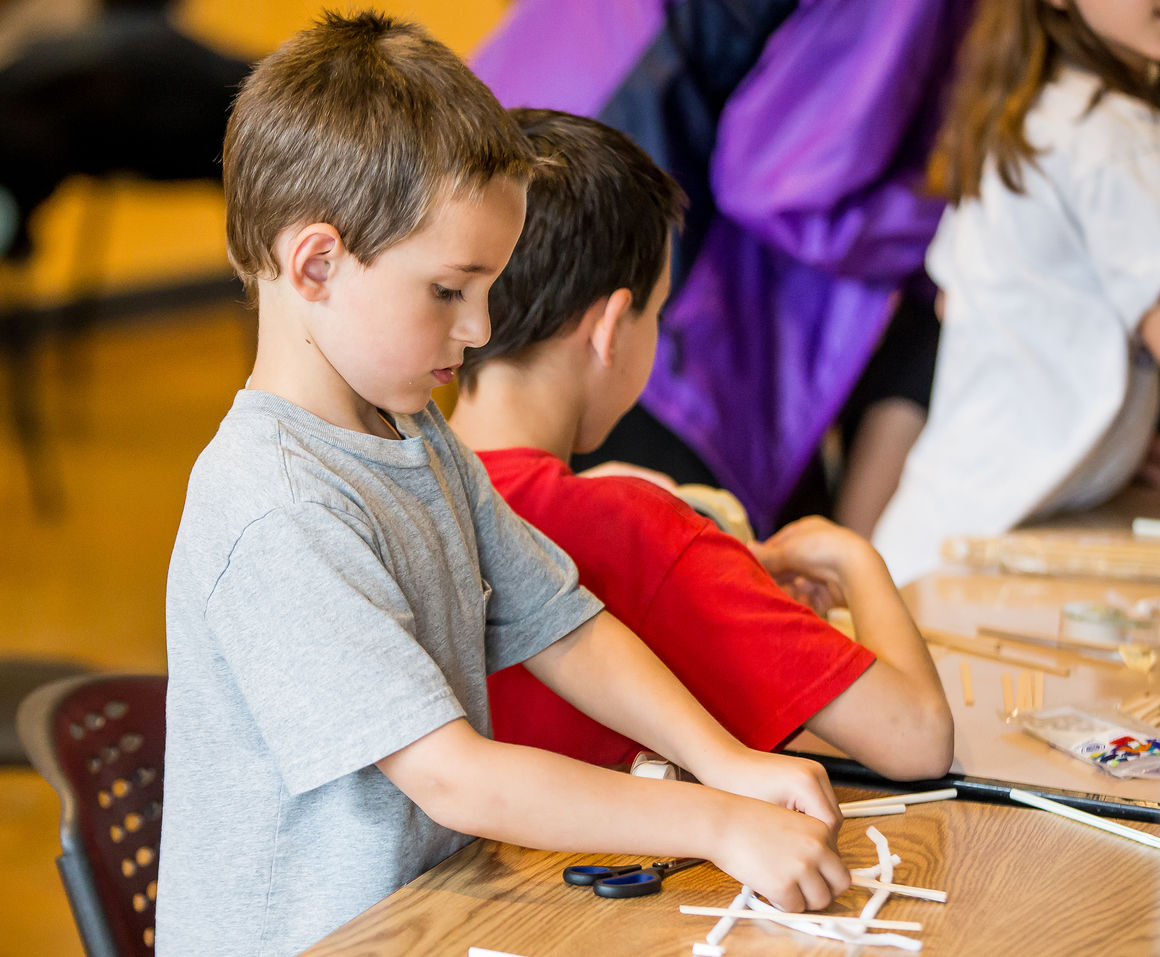 Youths Learn About Build Bridges At Putnam For Museum