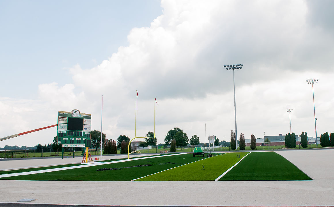 Worth the wait: Geneseo stadium project nearing an end ...