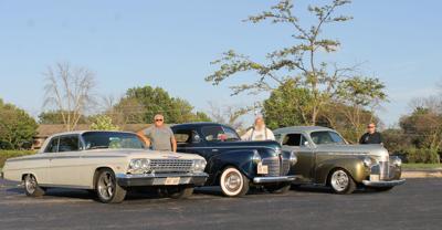 Vintage rods hosting car show