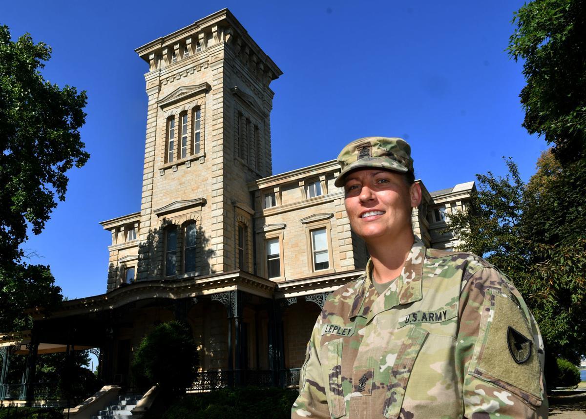 U.S. Army 1st Sgt. Shannon Lepley