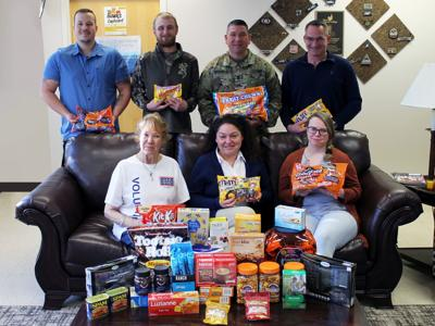 BHC students collecting items for soldiers overseas