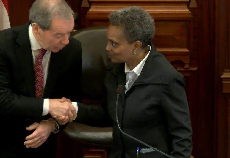Lori Lightfoot at Illinois Senate