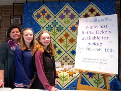 Quilt among Winterfest raffle prizes Feb. 16
