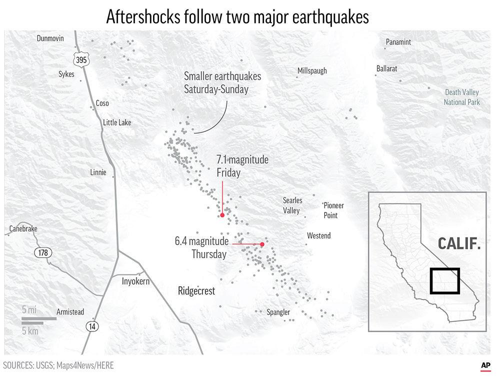 CALIF EARTHQUAKE