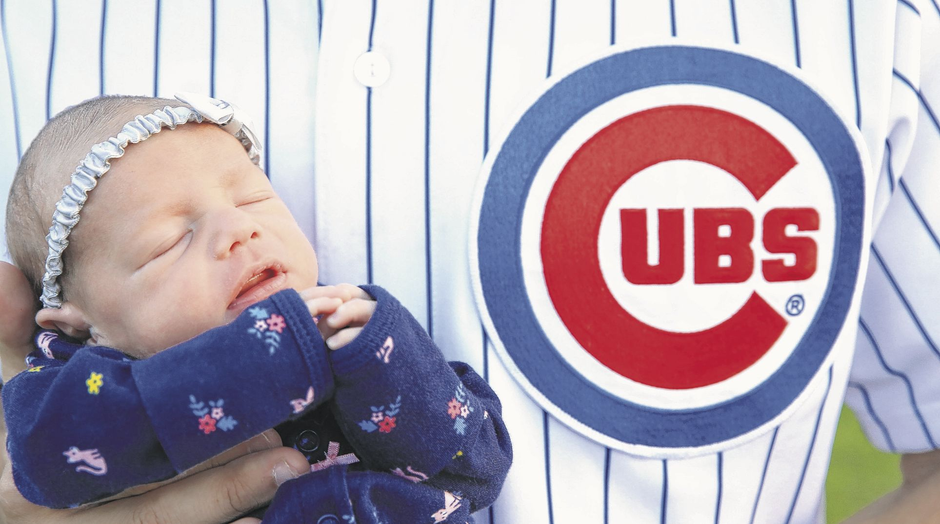 Cubs celebrate World Series babies