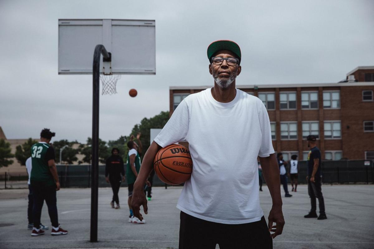 Gerald Bryant runs summer basketball leagues in the North Lawndale neighborhood.