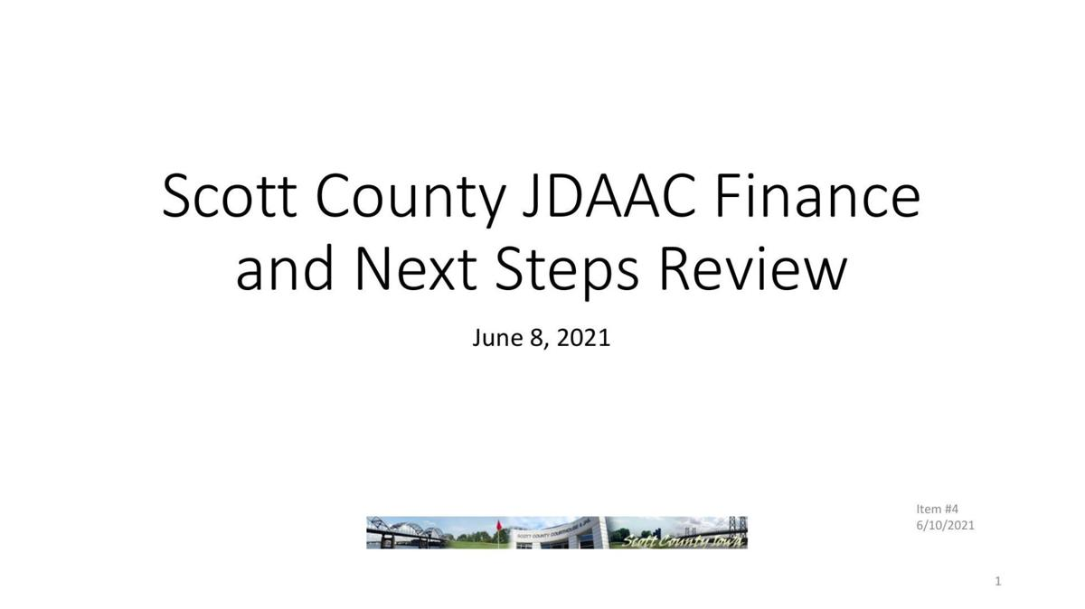 Scott County JDAAC financing options