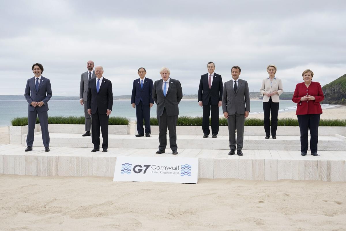APTOPIX G7 Biden