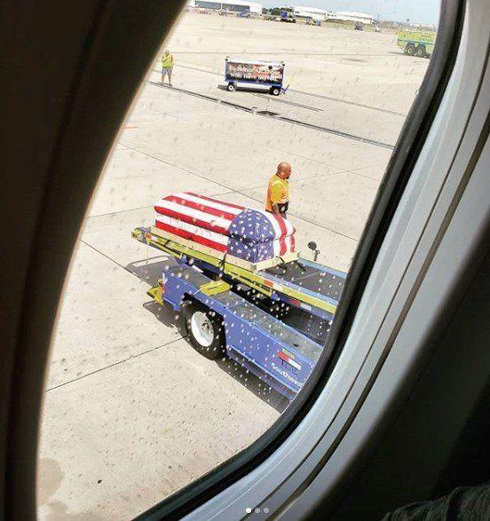 Fallen war hero from Vietnam returns