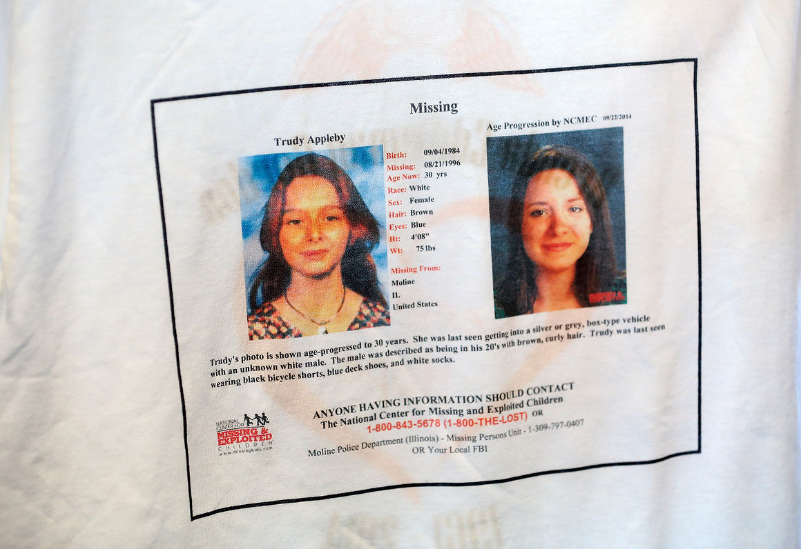 Moline Police believe they know the last person to see Trudy Appleby