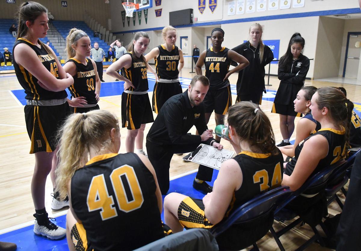 Bettendorf vs Davenport North girl's basketball