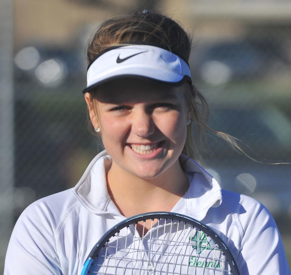 2018 Girls' Tennis All-Star: Lucy Rector, Alleman