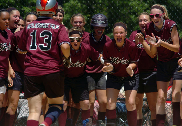 Seitz granddaughter spurs Moline softball regional title