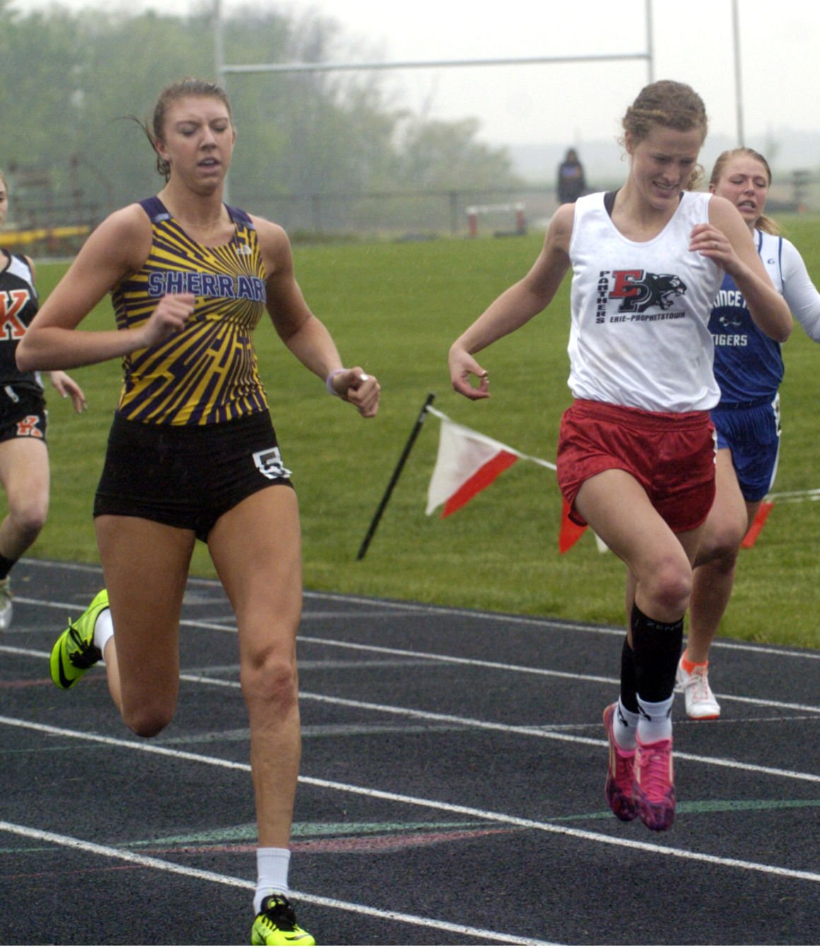 sherrard single girls Sherrard — the galesburg high school girls track and field team finished second out of four teams at the sherrard meet on tuesdaythe silver streaks finished with 128 geneseo won the invite.