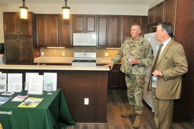 Rock Island Arsenal new homes offer suburban look | News