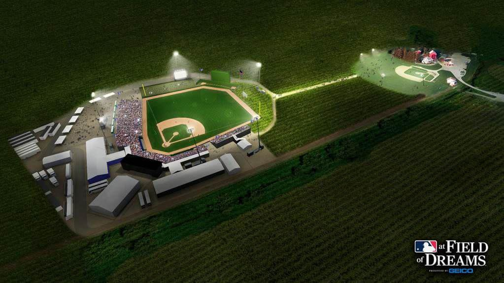 Stadium mock-up