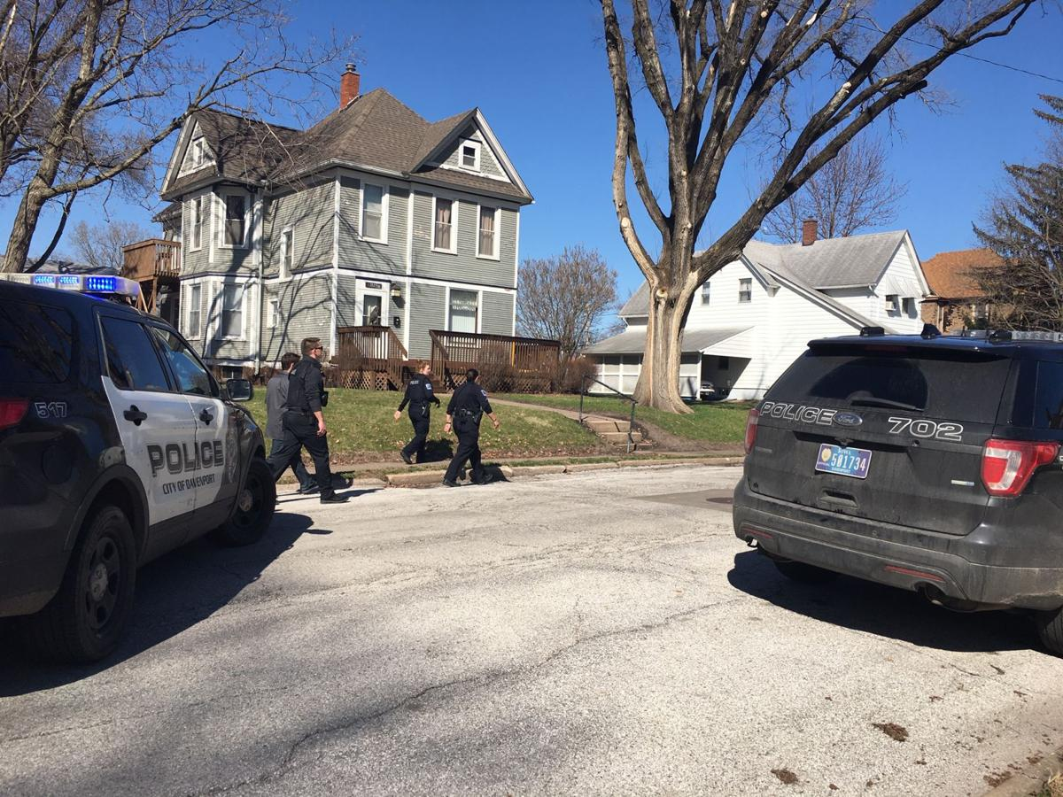 Shooting on W. 15th Street in Davenport
