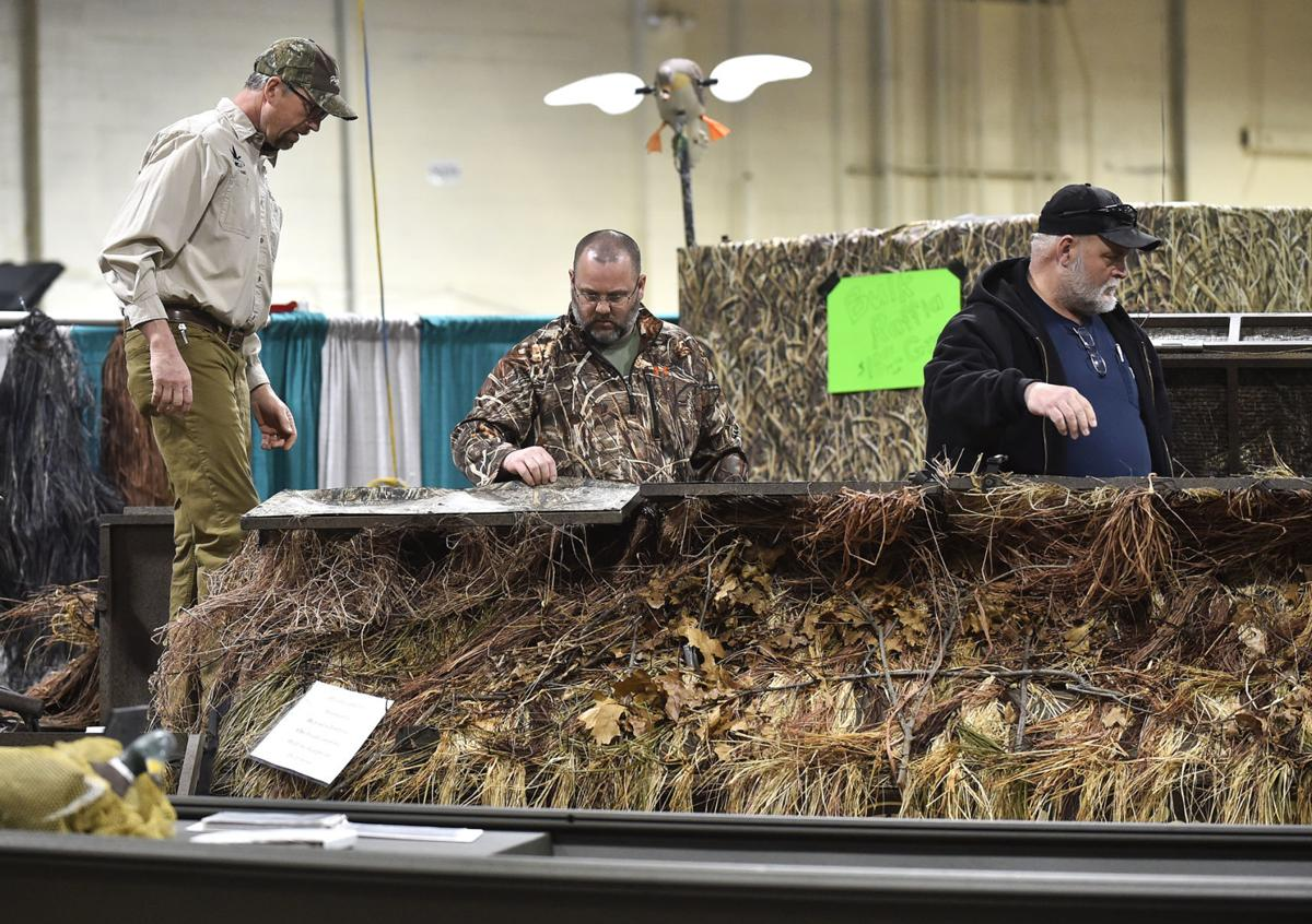 Outdoor show visitors catch tips for fishing success for Hunting and fishing show