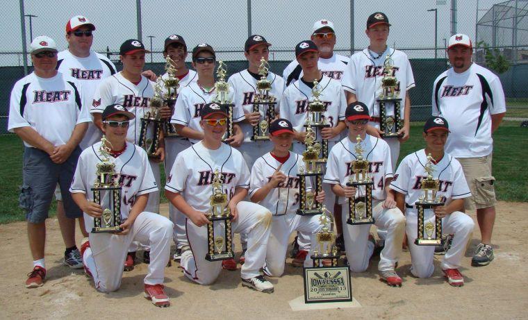 Heat sizzle to Iowa state baseball title | Sports | qconline com