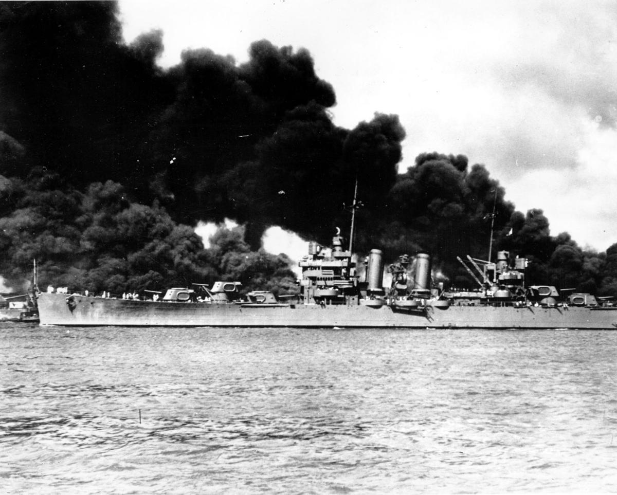 WWII USS CRUISER PEARL HARBOR