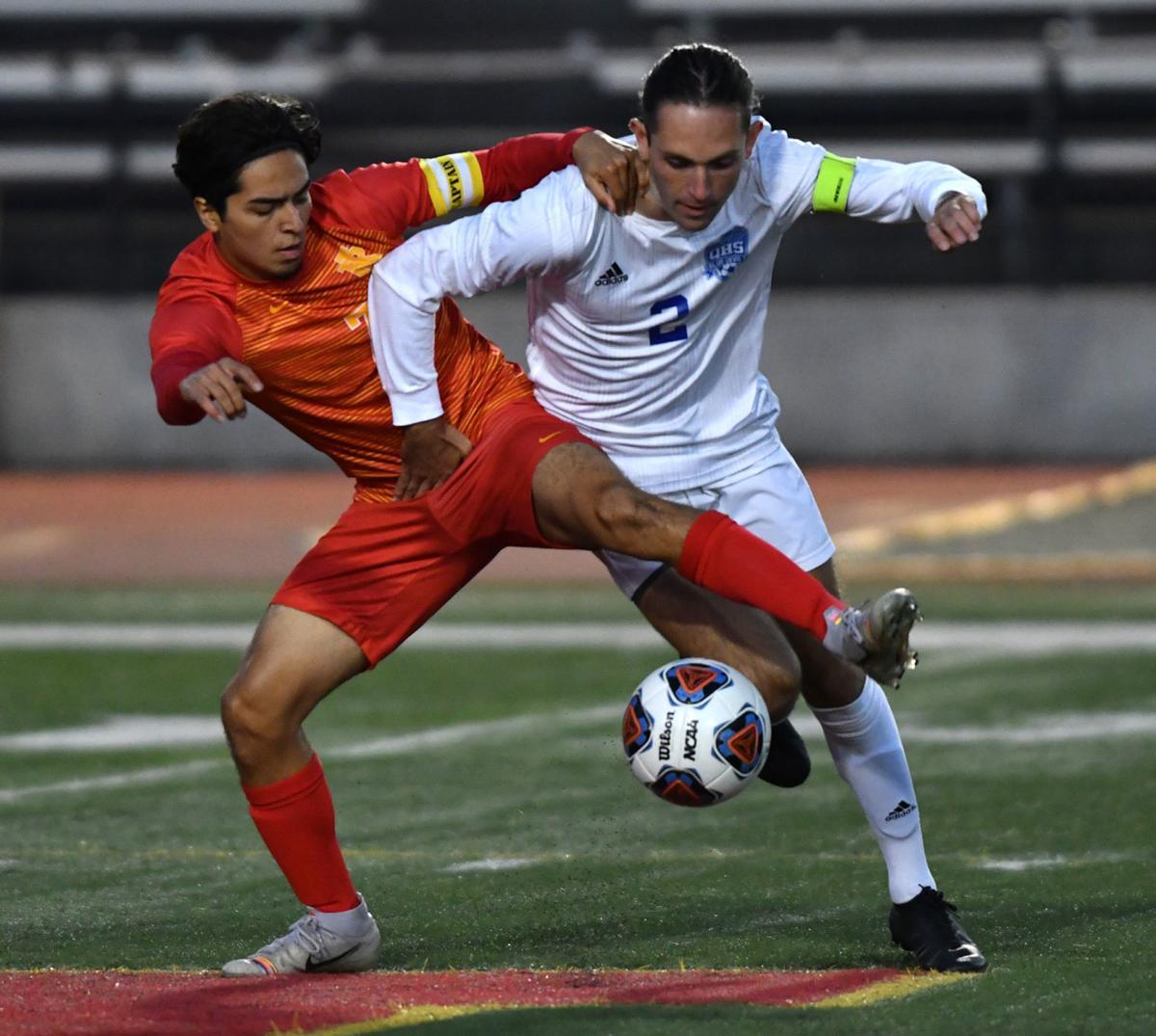 Quincy vs Rock Island boys soccer