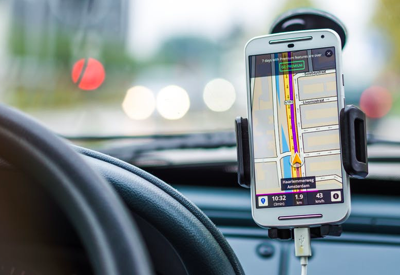 GPS replaced physical maps