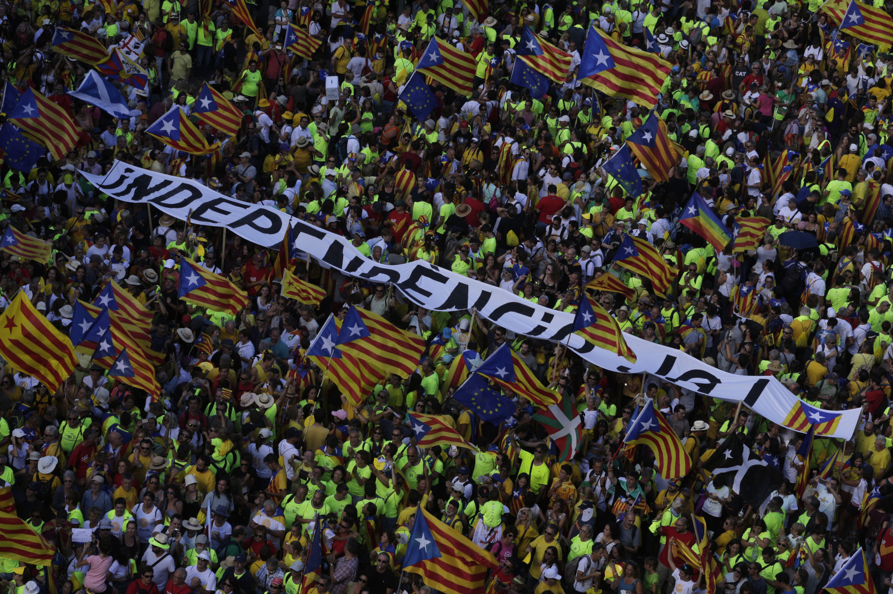 1 million join rally for Catalan independence