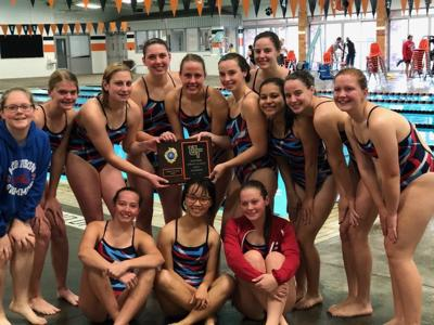 Morrison girls' swim team