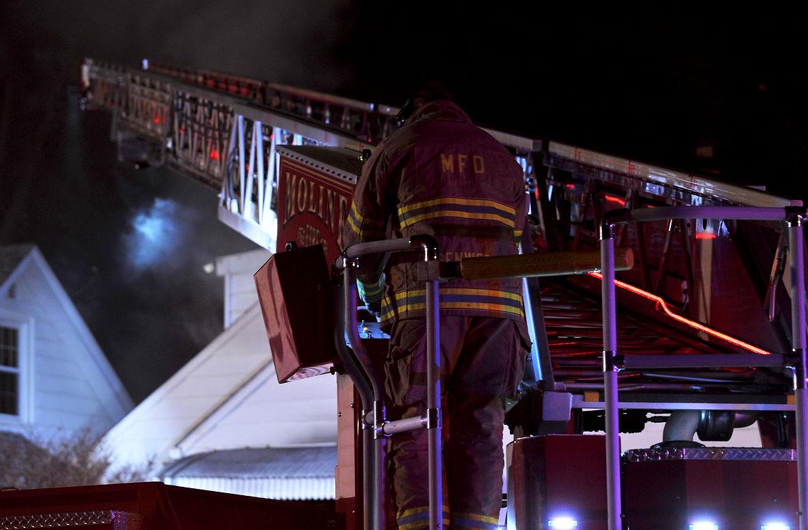 Moline house fire Friday kills cat