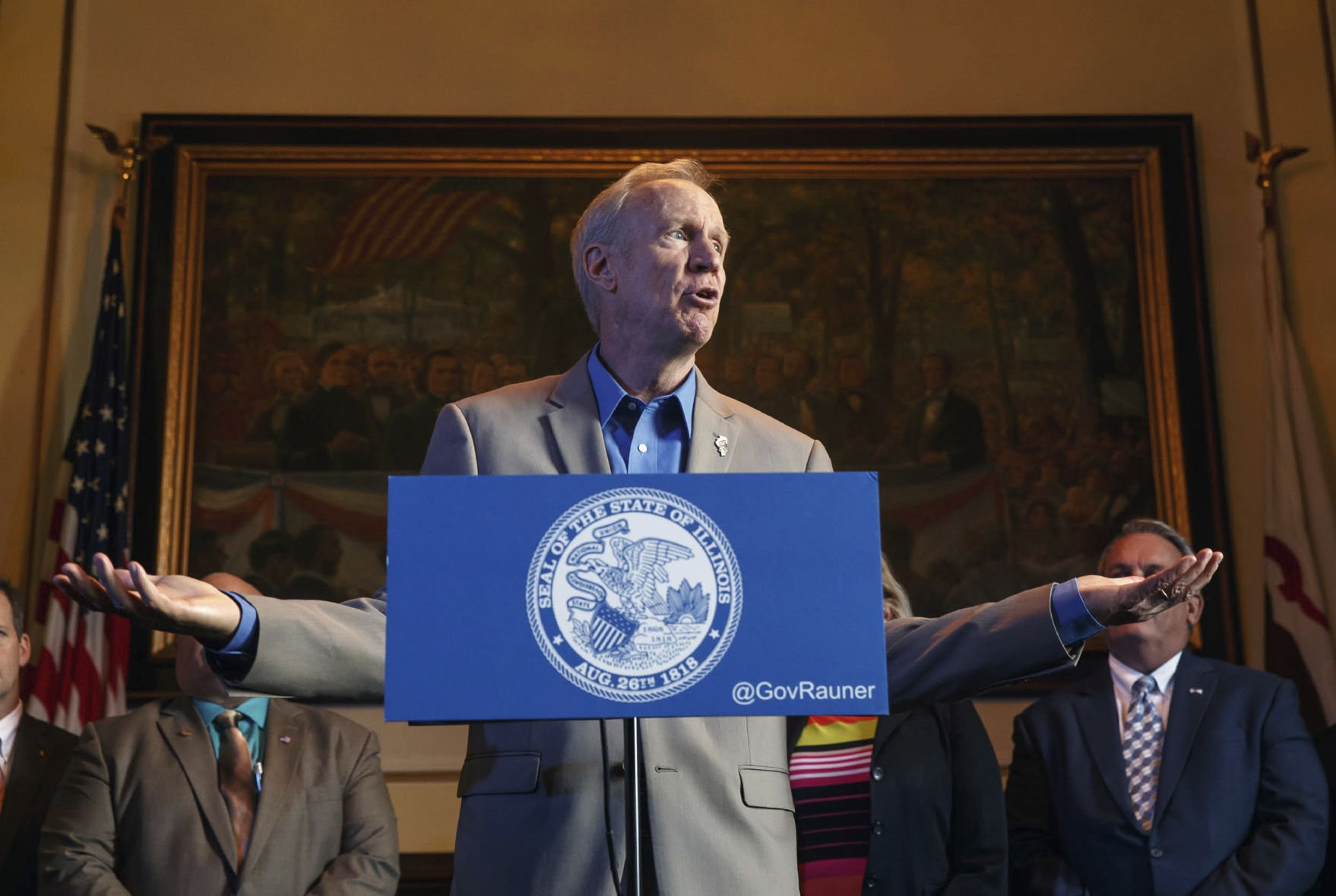 Illinois Lawmakers Quickly Adjourn Second Day Of School Funding Session