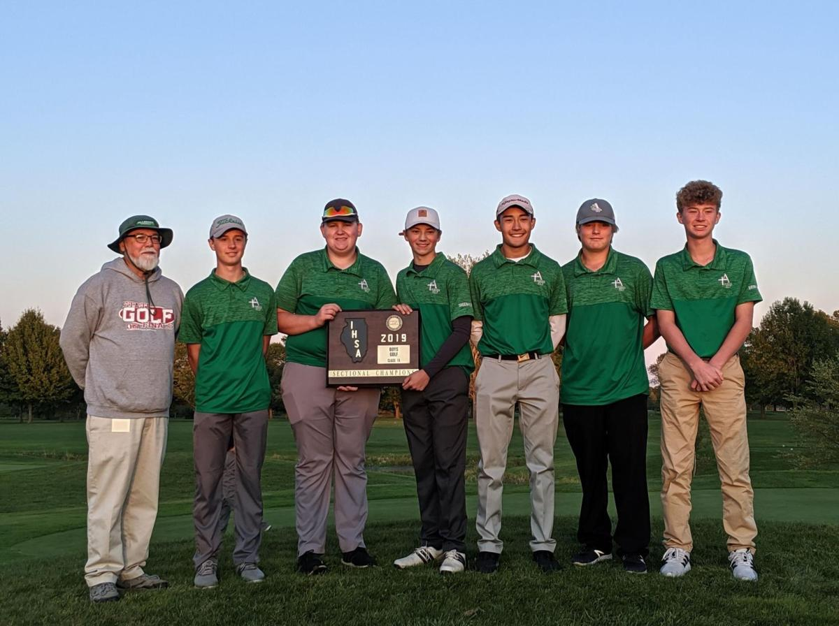 alleman boys golf sectional champs