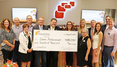Ascentra Credit Union Foundation gives $100,000 grant to Junior Achievement